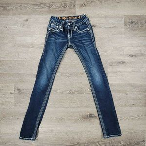Rock Revival Jeans Womens 23 Yui Straight Low Rise